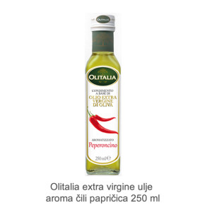 Olitalia extra virgine ulje aroma cili papricica 250 ml