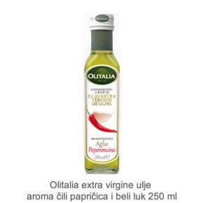 Olitalia extra virgine ulje aroma cili papricica i beli luk 250 ml