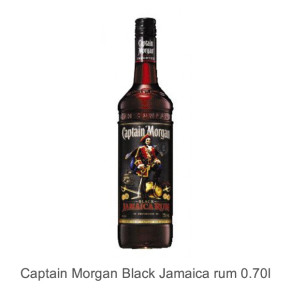 Captain Morgan Black Jamaica rum