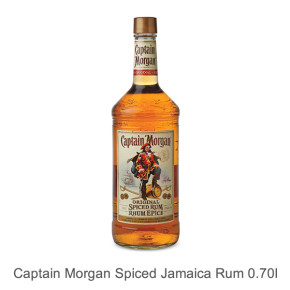 Captain Morgan Spiced - Jamaica Rum