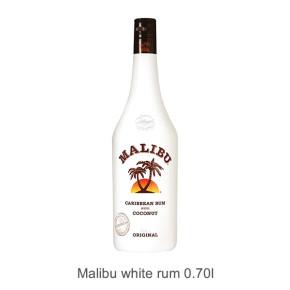 Malibu white rum