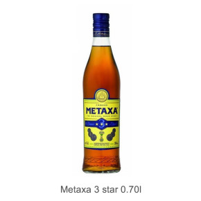 Metaxa 3 star