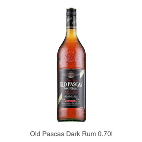 Old Pascas Dark Rum