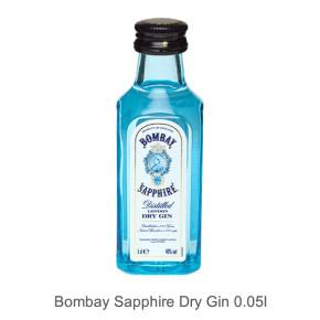 Bombay Sapphire Dry Gin mini