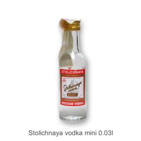 Stolichnaya vodka mini