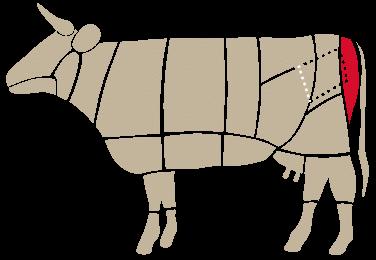 Bresaola Magatello-cow