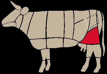 Bresaola Sottofesa - cow