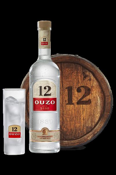 Ouzo 12-bottle