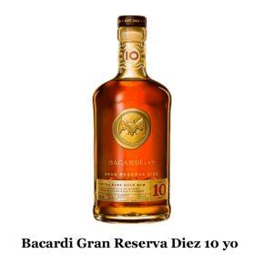 Bacardi Gran Reserva Diez 10 yo