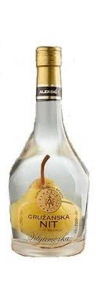 Gružanska nit Vilijamovka sa plodom