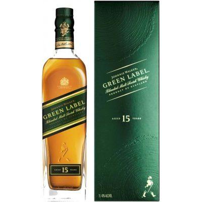 Johnnie Walker Green label 15 yo